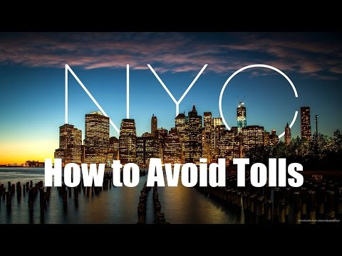 How To Avoid Tolls - NYC