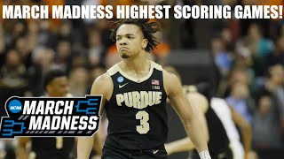 NCAA March Madness: Highest Scoring Game From Every Tournament (2012-2019)