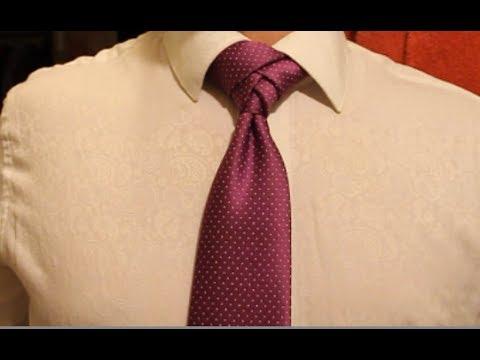 Как завязать галстук? Элдридж.