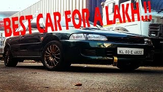 THE BEST CAR IN INDIA FOR  A LAKH.!! Mitsubishi Lancer 2.0 diesel GLXD