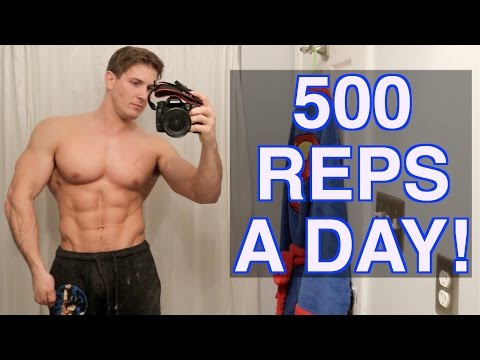 500 Repetition Workouts For Mass – Specialize and also be