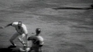 WS1968 Gm1: McCarver throws out Stanley in 1st