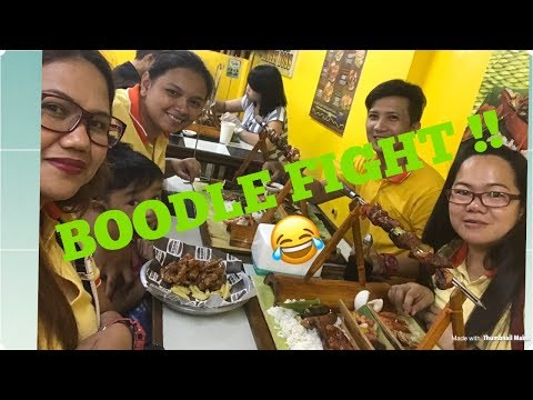 Hungry Boss ( Boodle  Fight ) Pinoy Style | Kain Pa More