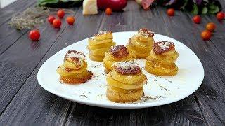 Картофель в формочках - Рецепты от Со Вкусом