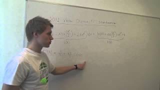 Matematik A - Emner, begreber og beviser - Vis, at F er den korrekte stamfunktion til f