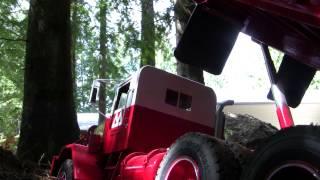 Hayes dump truck hauling gravel 2