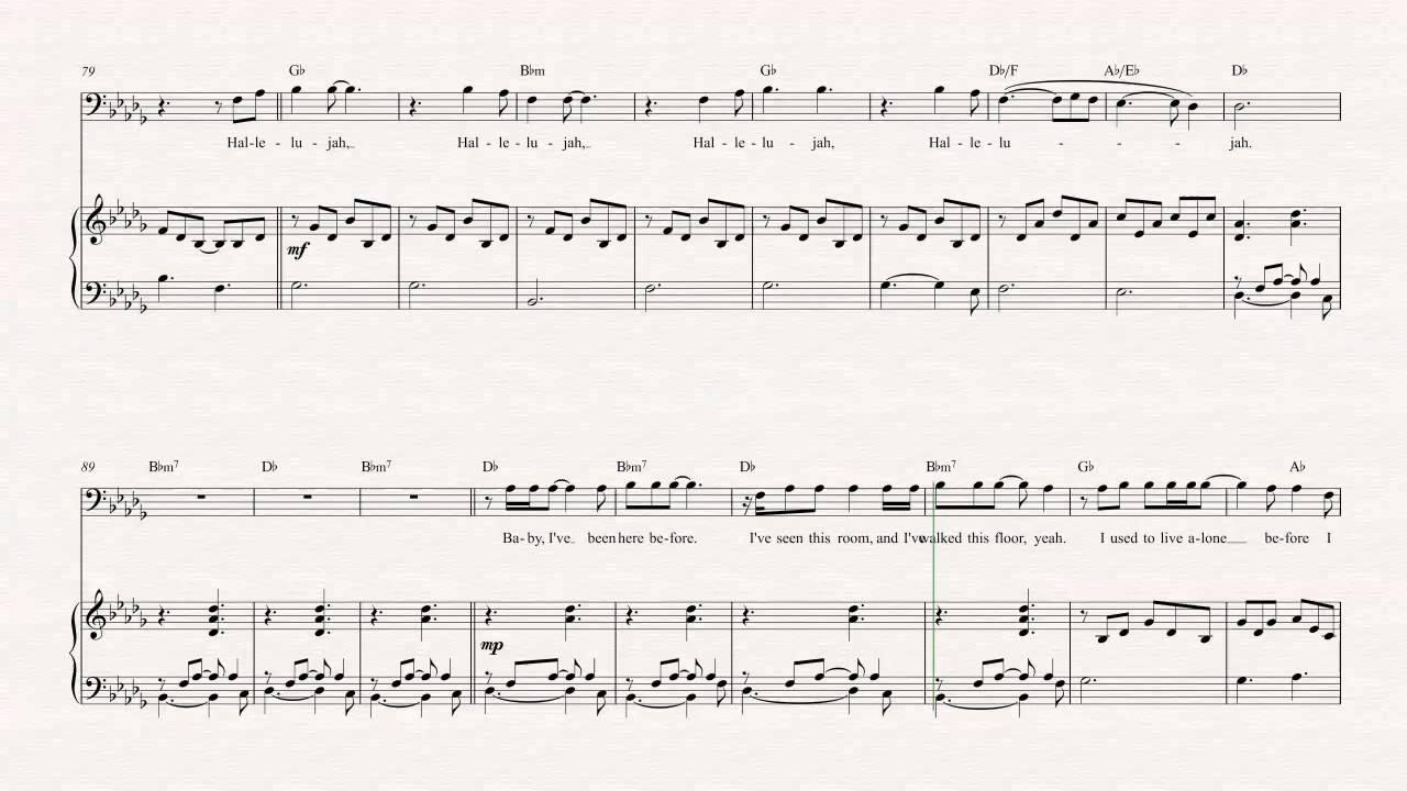 Trombone hallelujah jeff buckley sheet music chords vocals trombone hallelujah jeff buckley sheet music chords vocals youtube hexwebz Choice Image