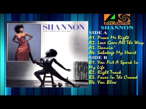 SHANNON - LOVE GOES ALL THE WAY (FULL ALBUM) 1986