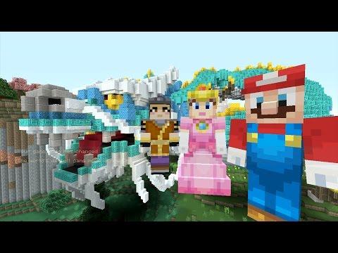 Minecraft Wii U - Super Mario Series - Mario Goes to China [104]