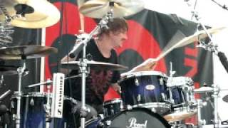 ray luzier solo at la rioja drumming festival 2011