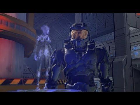 Halo 2 Legendary Cairo Station gameplay on wine 3.0
