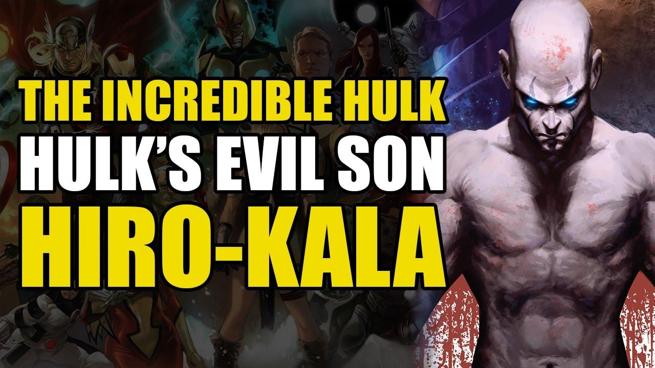 Origin Of Hiro Kala/The Hulk's Second Son (Son Of Hulk Vol