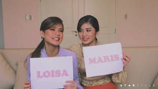 """Who's Most Likely To..."" with Maris Racal & Loisa Andalio 