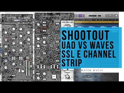 Shootout Uad Vs Waves Ssl E Channel Strip Youtube