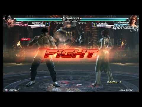 TEKKEN 7: Kazuya/Dragunov/Law vs Paul/Katarina/Bryan - CRASH GAME 1 of 3