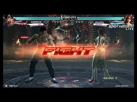 TEKKEN 7: Kazuya/Dragunov/Law vs Paul/Katarina/Bryan - CRASH GAME 1 of 3