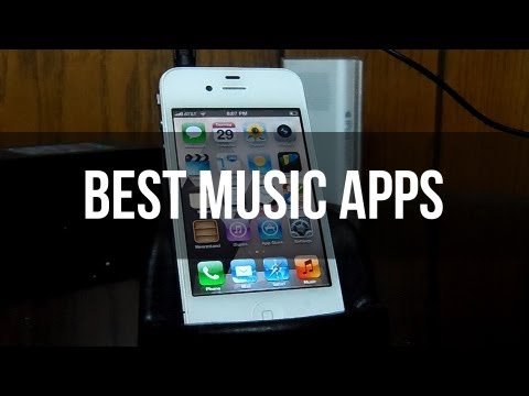 Best Music Apps for iPhone, iPod and iPad ft. TechTimeCentral | DansTube.TV