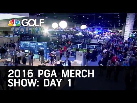 2016 PGA Show Day 1 Recap 1/27/16 | Golf Channel