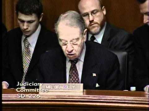 Senate Judiciary Committee Oversight Hearing of Department of Justice
