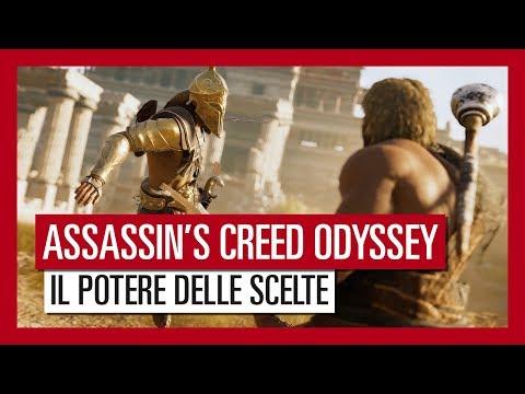 Trailer di Assassin's Creed Odyssey: Il Potere delle Scelte thumbnail