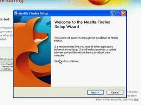 Downloading and Installing Firefox