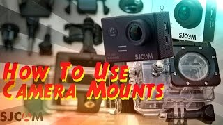 How to Use Action Camera Mounts & Accessories