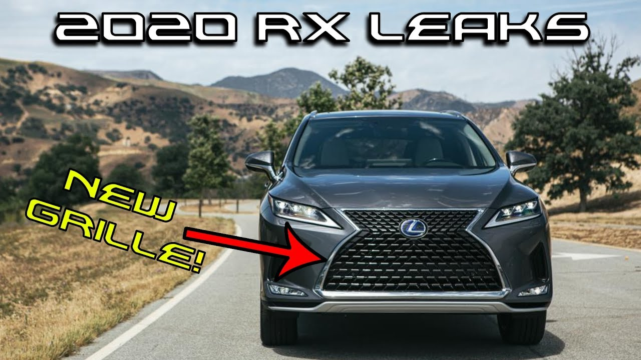 2020 Lexus RX 350 Interior, Refresh, F Sport >> 2020 Lexus Rx 350 Announced New Grille Lights Interior And Suspension