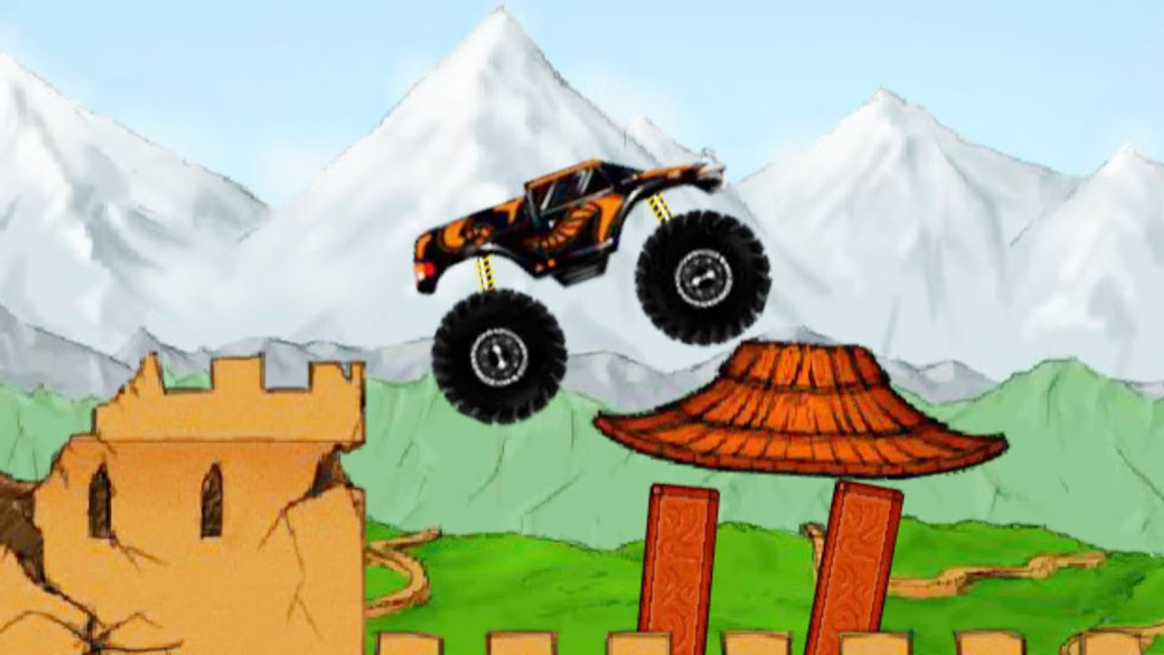 Monster Truck China Demolisher - Game Play