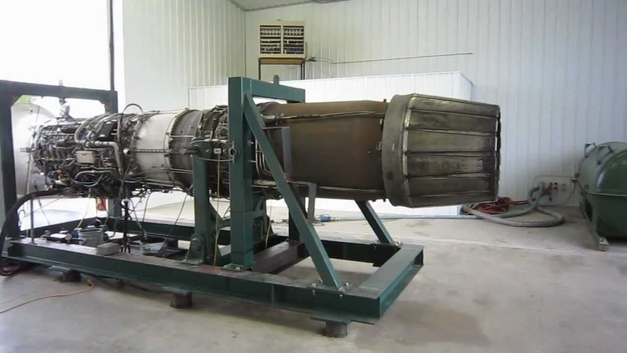 hight resolution of testing a ge j79 with afterburner