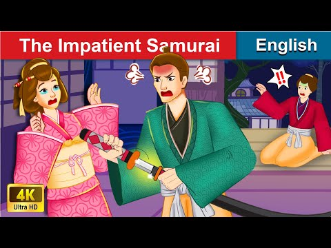 The Impatient Samurai 👦 Bedtime stories 🌛 Fairy Tales For Teenagers | WOA Fairy Tales