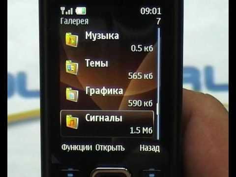 Видео обзор Nokia 6300 Choco от ◄ Quke.ru ►