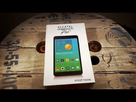 Unboxing en Español Alcatel One Touch Pixi8