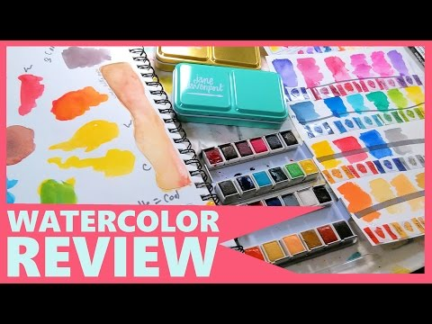 Jane Davenport Watercolor Review (In-Depth with comparisons)