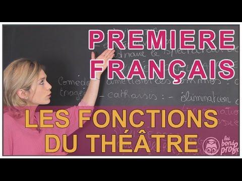 dissertation sur fonctions du theatre 2nde