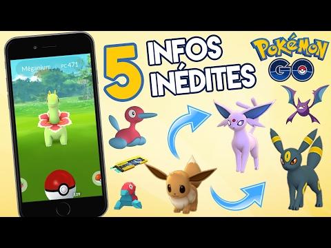 Astuces 2G Pokémon GO (Avoir Noctali, Mentali, Hyporoi, Cizayox...)