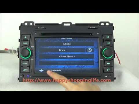 Toyota Land Cruiser 120 Prado In Dash GPS Navigation DVD Player Radio