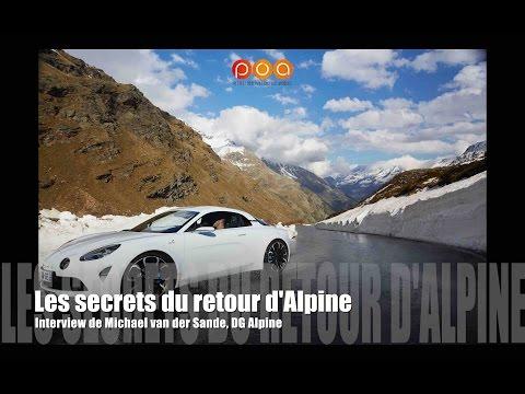 Alpine : les secrets du retour