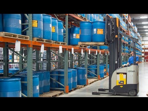 Warehouse Design Coupled with Efficient Forklifts Positions Manufacturer for Growth