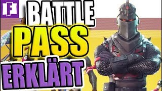 Fortnite BATTLE PASS explained in detail!