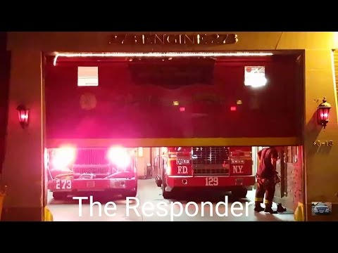 [FDNY] RESPONDING TO (*HUGE*) 5 ALARM FIRE, COLLEGE POINT