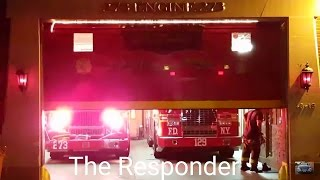 [FDNY] Engine 273 & LADDER 129 RESPONDS TO A 5 ALARM FIRE