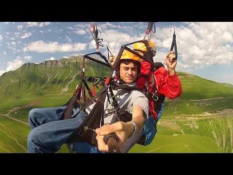 טיסה בחרפן למרגלות הר גזבגי