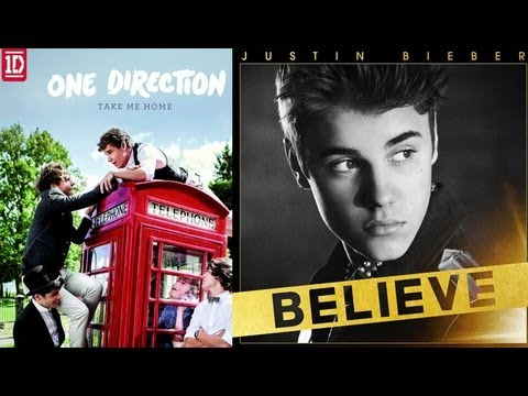 """One Direction's """"Take Me Home"""" Album Sales Top Bieber"""