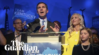 Gambar cover Kentucky governor race: Democrat Andy Beshear declares victory