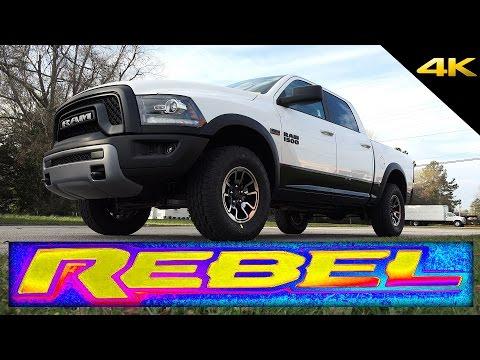 2016 RAM REBEL 1500 - In-Depth Look in 4K