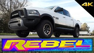 2016 RAM REBEL 1500 - In-Depth Look in 4K