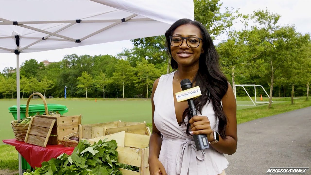 Thank you BronxNetTV for visiting our farmers market