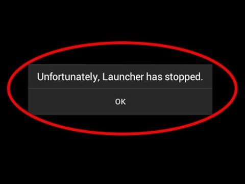 how to fix unfortunately launcher has stopped|unfortunately launcher has stopped android