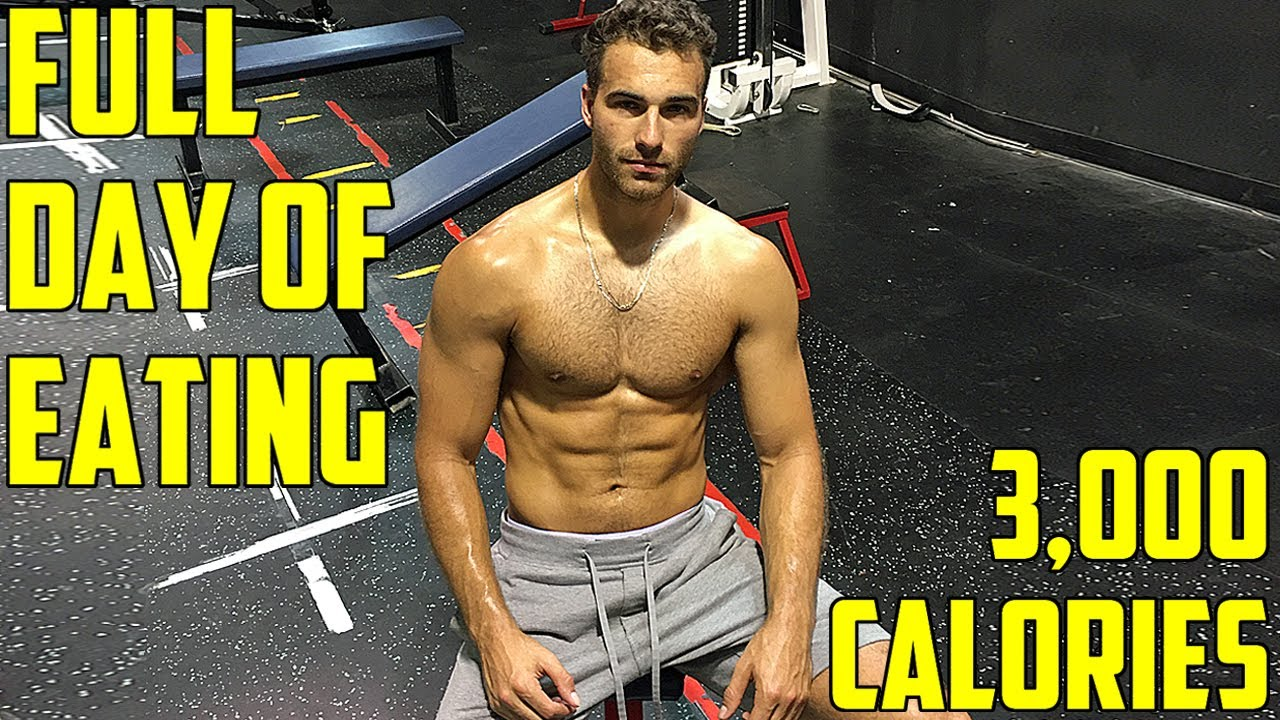 A Day of Eating on a Bulk | All My Bulking Meals (3,000+ Calories)