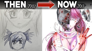 My Old Drawings - Then VS Now! (10 Years of Art Improvement)